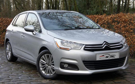 rent a car Citroen C4 eHDI automatic