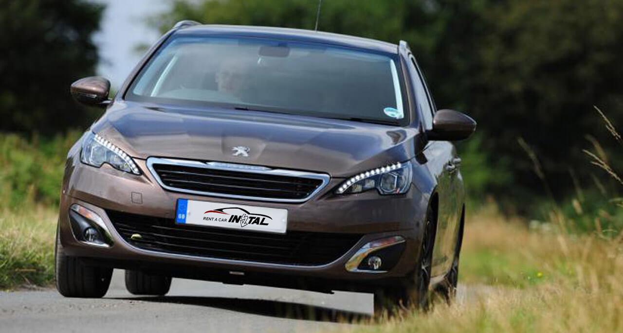 Peugeot 308 SW 1 6 eHDI AdBlue – Instal Rent a car Novi Sad